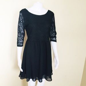H&M Divided. Dress. Black. Lace.